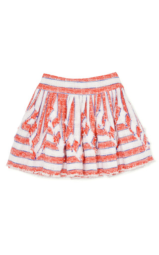 Medium msgm multi nubby stripe skirt 2