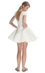 Ivory Jules Lace Cap Sleeve Dress by TIBI Now Available on Moda Operandi