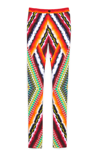 Medium peter pilotto red damask red eli trousers 2