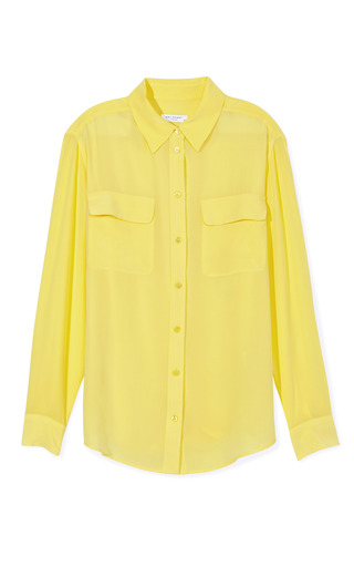 Signature Blouse by EQUIPMENT Now Available on Moda Operandi