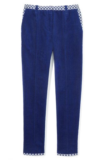 Medium ostwald helgason blue corduroy trouser 2