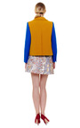 Netted Cotton Color Block Jacket by CARVEN Now Available on Moda Operandi