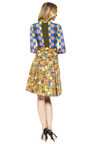 Floral Butterfly Faille Skirt by MARC JACOBS Now Available on Moda Operandi