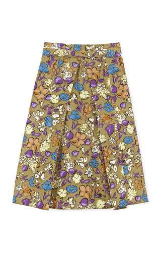 Medium marc jacobs print floral butterfly faille skirt 2