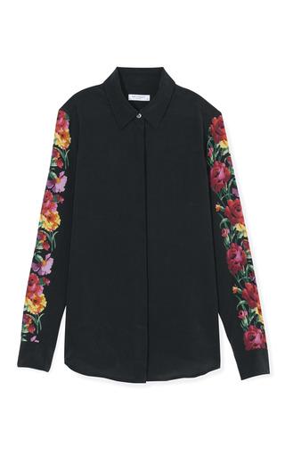 Medium equipment black long sleeved earl blouse