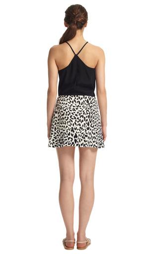 Side Drape Ruffle Skirt by THAKOON ADDITION Now Available on Moda Operandi