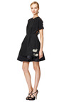 Circle Skirt Party Dress by THOM BROWNE Now Available on Moda Operandi