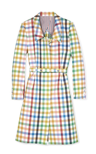 Medium thom browne multi popper overcoat 2