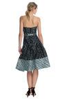 Polka Dot Jacquard Strapless Drop Waist Party Skirt Dress by CAROLINA HERRERA Now Available on Moda Operandi