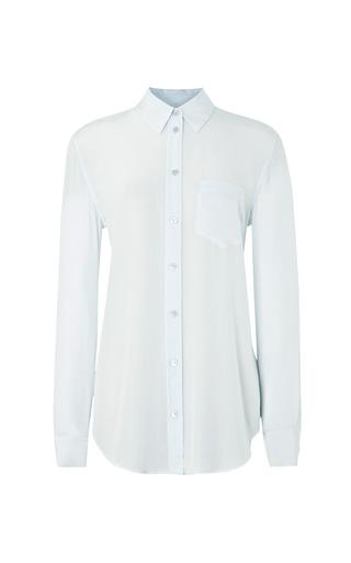 Medium equipment blue reese silk blouse 2
