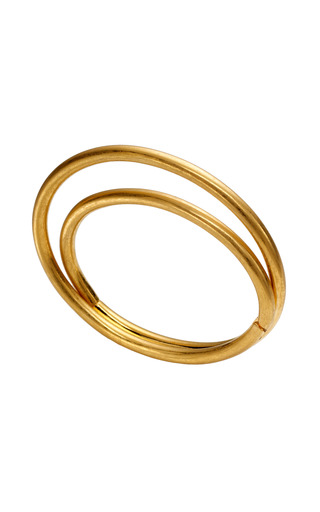 Medium vionnet gold double layer bracelet 2