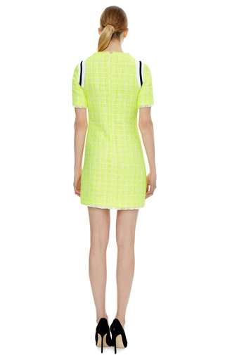 Sport Tweed Dress by MSGM Now Available on Moda Operandi