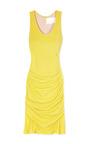 Matte Crepe Jersey Dress by YIGAL AZROUëL Now Available on Moda Operandi