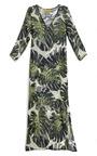 Tropical Long Tunic by ADRIANA DEGREAS Now Available on Moda Operandi