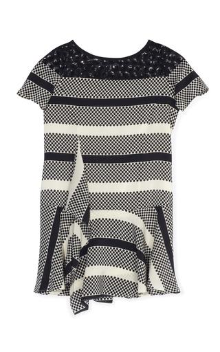 Medium thakoon addition print sequin t shirt dress 2