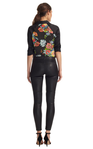 Stretch Leather Pant by YIGAL AZROUëL Now Available on Moda Operandi