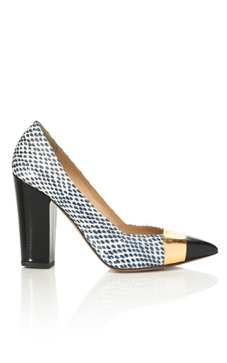 Medium nicholas kirkwood print block heel pump 3