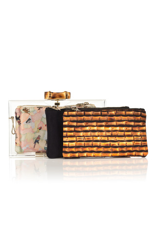 Pandora Bamboo Clutch by CHARLOTTE OLYMPIA Now Available on Moda Operandi