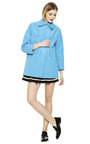 Technical Faille Coat by CARVEN Now Available on Moda Operandi