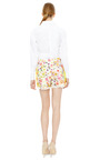 Textured Floral Shorts by MSGM Now Available on Moda Operandi