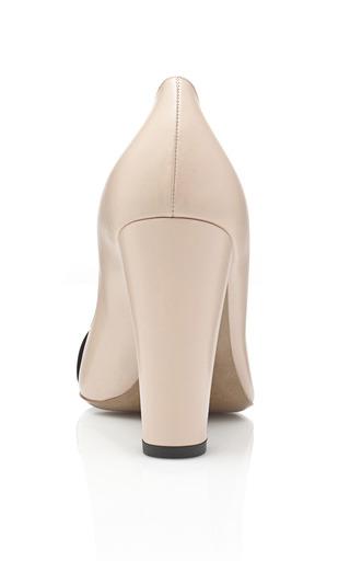 Block Heel Pump by NICHOLAS KIRKWOOD Now Available on Moda Operandi