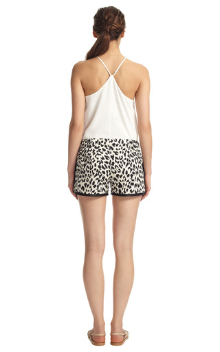 Piping Mini Short by THAKOON ADDITION Now Available on Moda Operandi