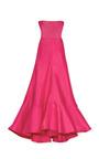 Fuchsia Strapless Gown by VALENTINO Now Available on Moda Operandi