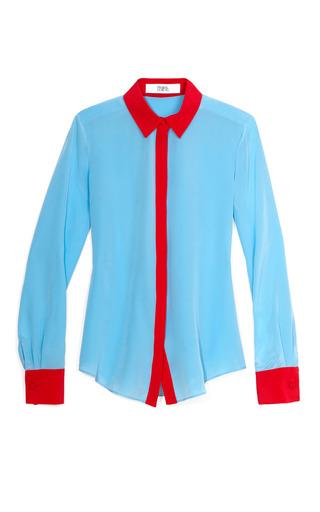 Medium prabal gurung multi two tone blouse 2