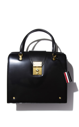 Medium thom browne black mrs thom bag