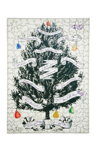M'o Exclusive: Partridge In A Pear Tree Puzzle by BERNARD MAISNER Now Available on Moda Operandi