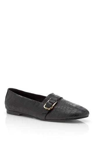 Medium newbark black albert loafers