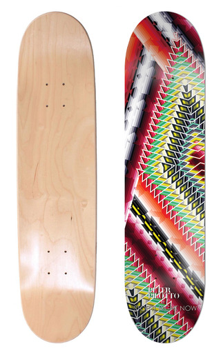 Medium stop it right now print peter pilotto by stop it right now skate deck