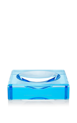 Medium alexandra von furstenberg blue lucite chiclet candy bowl