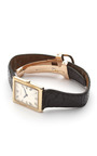 Cartier 18 K Gold Deployant Tank Watch by FOUNDWELL for Preorder on Moda Operandi