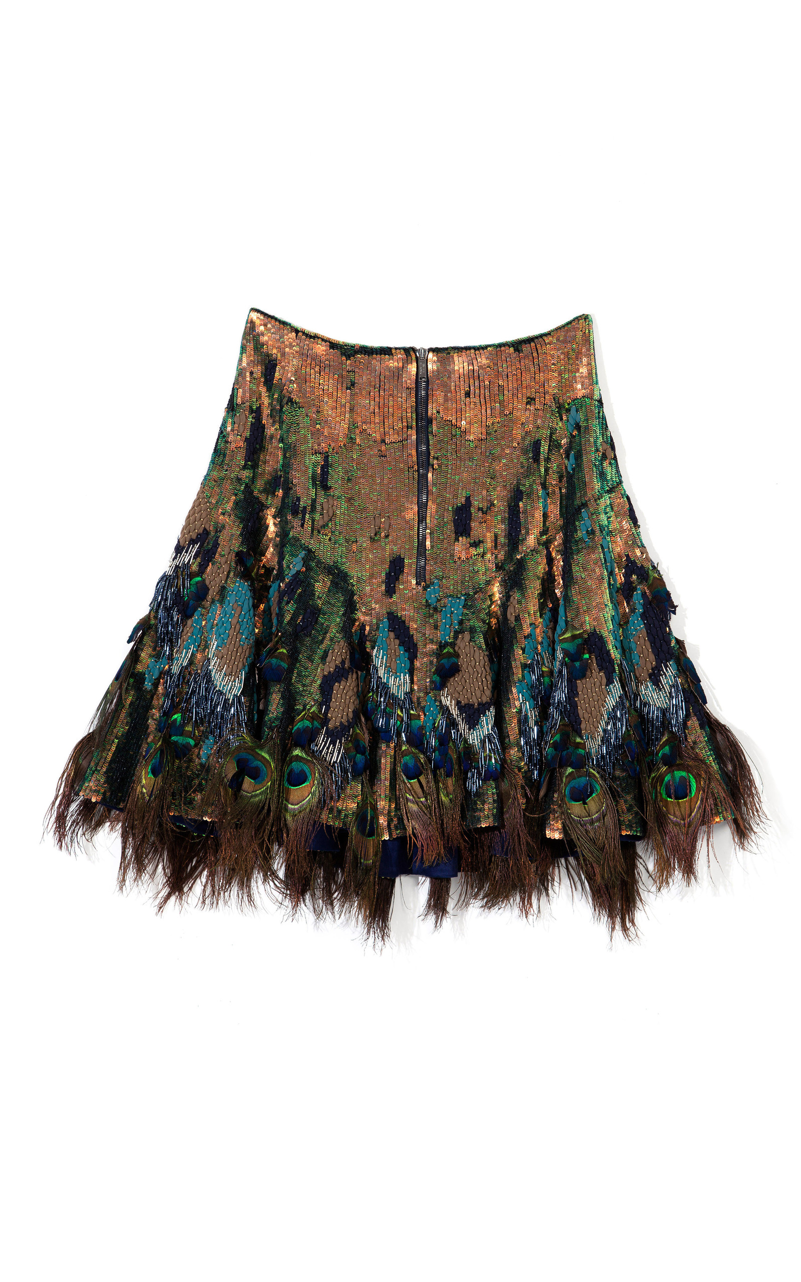 Peacock Feather Skirt 30