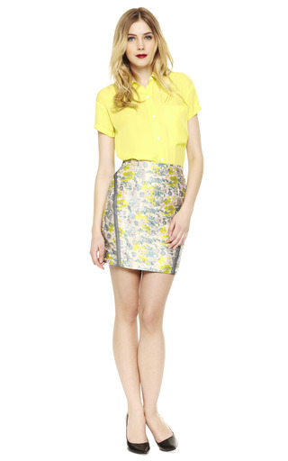 Taped Seam Skirt by OPENING CEREMONY Now Available on Moda Operandi