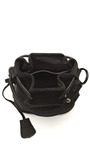 Anthracite Suede Pop Up Bag by OPENING CEREMONY Now Available on Moda Operandi