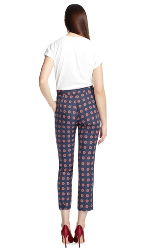 Floral Stamp Crop Trouser by OPENING CEREMONY Now Available on Moda Operandi