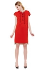 Stretch Cotton Faille Lace Up Tunic Dress by DEREK LAM Now Available on Moda Operandi