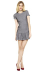 Dropped Ruffle T Shirt Dress by OPENING CEREMONY Now Available on Moda Operandi