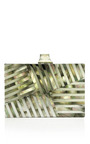 Mother Of Pearl Fractured Clutch by KELLY WEARSTLER for Preorder on Moda Operandi