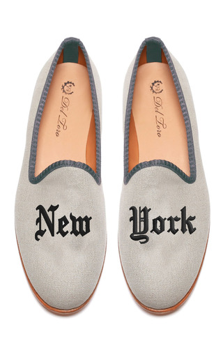Prince Albert New | York Slipper Loafers by DEL TORO for Preorder on Moda Operandi