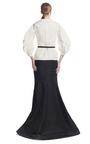 Silk Faille Full Sleeve Blouse by CAROLINA HERRERA for Preorder on Moda Operandi