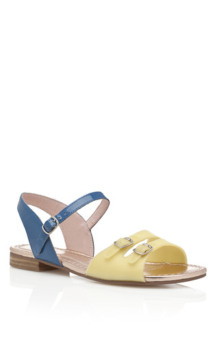 Medium opening ceremony blue seaside sandal 3