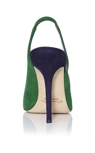 Ivy & Marine Laura Slingback Pumps by OSCAR DE LA RENTA for Preorder on Moda Operandi