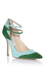 Larimar & Viy Sissi Pumps by OSCAR DE LA RENTA for Preorder on Moda Operandi