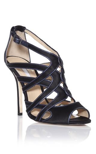 Medium oscar de la renta black black lila sandals