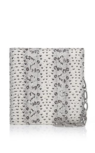 Viper Square Grafton Clutch by OSCAR DE LA RENTA for Preorder on Moda Operandi