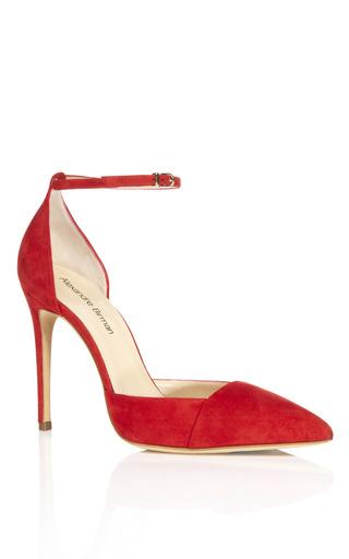 Medium alexandre birman red red lady like pump