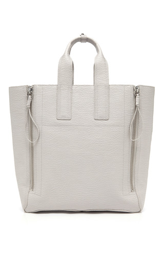Medium 3 1 phillip lim shark embossed cow pashli large tote